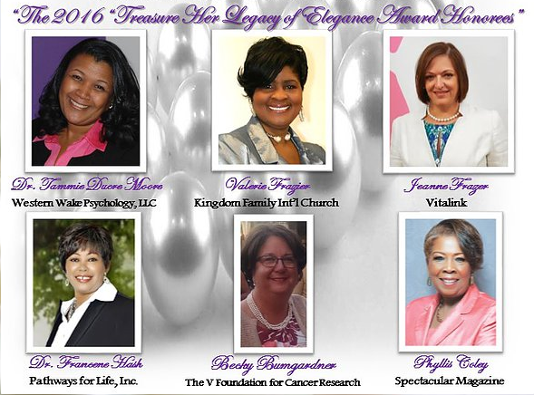 Treasure Her Elegance 2016 Honorees