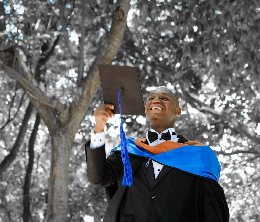 Gentlemen Graduating
